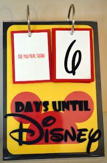 A Disney Countdown Calendar adds to the Fun! ~ Walt Disney World Hints