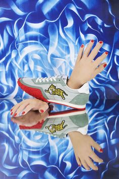 Billie Thomassin shoots accessories for Jalouse Magazine #shoes #kenzo