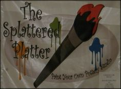 The Splattered Platter in Middletown.  Paint Your Own Pottery, Kids Parties & more.