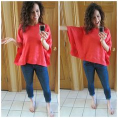 Cute poncho, love the color-as long as it's soft! :)