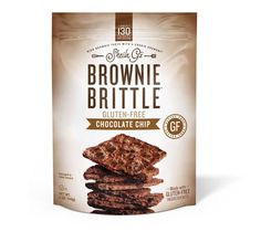 Gluten-Free Sheila G's Chocolate Chip Brownie Cookies brings you a mountain of rich gourmet brownie taste w a crisp cookie crunch to satisfy the gluten-free brownie edge lover in you. Gluten Free Chips, Gluten Free Brownies, Gluten Free Snacks, Gluten Free Recipes For Breakfast, Gluten Free Breakfasts, Gluten Free Chocolate, Vegan Chocolate, Chocolate Donuts, Chocolate Chip Cookie Brownies
