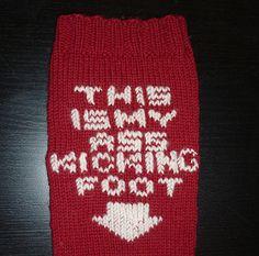 The Ass-Kicking socks