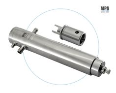 Stainless Steel Pumps for Bosch Pharmaceutical Machine replaceable with Neoceram McDanel Ceramics Version by MPA Technical Devices
