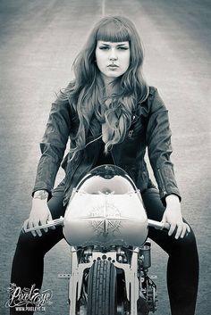 Victoria van Violence for Thunderbike