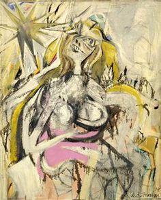 Woman/Verso: Untitled - Willem de Kooning
