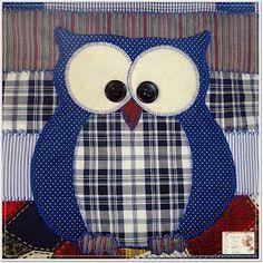 Mug Rug Patterns, Owl Patterns, Applique Patterns, Applique Designs, Quilt Patterns, Owl Applique, Applique Quilts, Quilting Projects, Sewing Projects