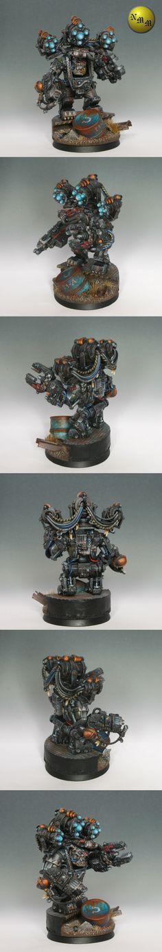 Ork Mek in Mega Armour