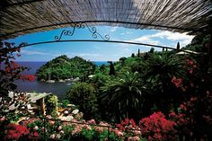 Hotel Splendido.  Located in Portofino, in the Italian Riviera.  Dining in this former monastery, you will find outdoor tables, where you can eat whilst taking in the commanding views across the harbour.  Unsurprisingly, the cuisine here is a real taste of all the great flavours that Italy has to offer.