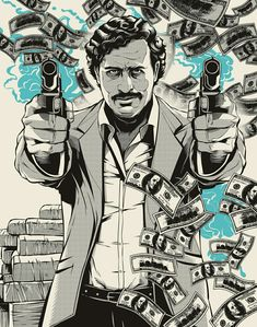 Pablo Escobar on Behance
