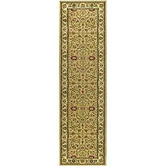 Safavieh Lyndhurst Traditional Oriental Beige/ Ivory Runner (2'3 x 8')