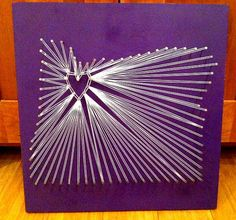 Do it yourself nail string art this piece created by chelsea rae oregon nail string art portland love by kimberlygeer on etsy 5000 solutioingenieria Images