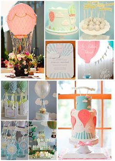 Hot Air Balloon Baby Shower