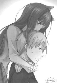Holo and Lawrence -- Spice & Wolf