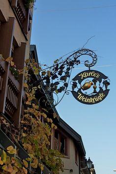 Ihringen am Kaiserstuhl, Gasthaus Karle s Weinkrügle , Okt.2012
