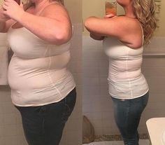 Maryn Teed completely transformed her body in the span of one year — dropping from 315 pounds to 210. #burnfat #weightloss Losing Weight Tips, Best Weight Loss, Healthy Weight Loss, Weight Loss Tips, How To Lose Weight Fast, Weight Gain, Weight Loss Challenge, Weight Loss Program, Weight Loss Transformation