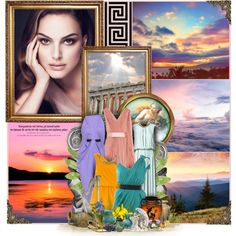 Greek Mythology: Eos by anna-nemesis on Polyvore featuring polyvore art