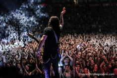 Alter Bridge at the Manchester Arena.  Photo copyright Christie Goodwin, all rights reserved