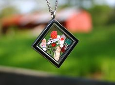 CNA Floating Charm Locket Set - Handmade custom gift by RepliKitty - Perfect gift for CNA! Shop www.replikitty.etsy.com