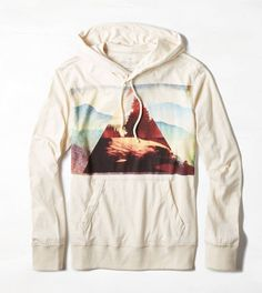 AEO Photo Real Hoodie T-Shirt