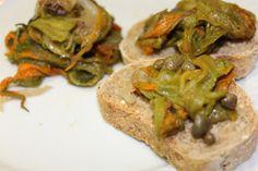 soul food : Fiori di zucchina alla Pizzaiola