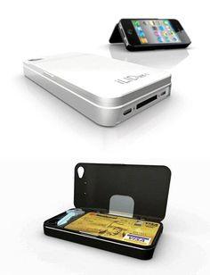 cool storage iphone 5 case