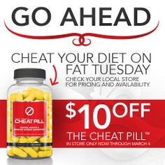 Cheat Your Diet on Fat Tuesday | Stop into Your Local Complete Nutrition for $10 Off | Thru March 4  Contact myself at 315-813-4041 or Sean at the main store at (402) 884-7664 tell them Analise sent you!  Shipping is FREE. Get other amazing deals directly through us that are not available through any other store.