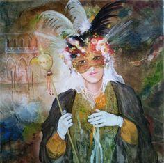 Венецианские мотивы в живописи Jean-Claude Campana