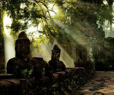 preah khan at angkor, cambodia