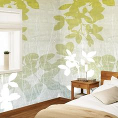 Modern Wallpaper Patterns and Colors Interior Design in Eco Style