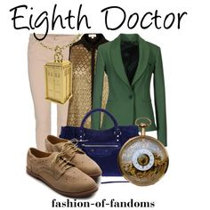 """""""Eighth Doctor"""" by fofandoms on Polyvore"""