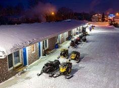 For best location and trail access in snowmobile friendly hotel, stage from Moonlight Inn Sudbury for sledding in Northeastern Ontario. Best Location, Motel, Staging, The Great Outdoors, Moonlight, Ontario, Trail, Snow, Park