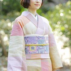 Adorable patchwork-y kimono!