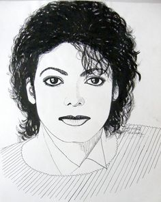 Michael Jackson portrait - ink drawing by gosia-jasklowska on deviantART. Based on a photoshoot with the Jacksons around the time of the Victory album, 1984 Michael Jackson Drawings, Michael Jackson Art, Jackson 5, The Jacksons, Art Projects, Sketches, Mj, Photoshoot, Deviantart