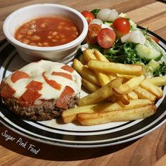 Sugar Pink Food: Slimming World Friendly Recipe: Pizza Topped Burge...