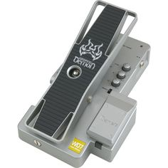 After the fuzz is an Ibanez Weeping Demon Wah Pedal, one of the first effects pedal I ever bought!