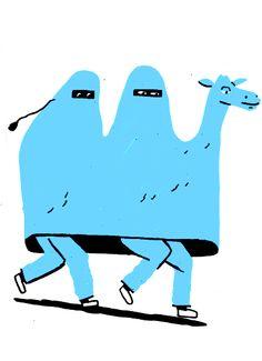 Camel illustration by Thomas Slater