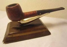 Vintage Dr. Grabow Belvedere Straight Apple Estate Briar Tobacco Smoking Pipe