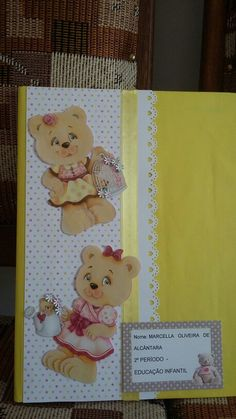 Caderno urso