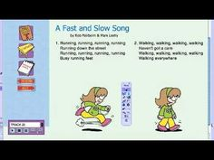 Responding through Moving - A Fast and Slow Song - YouTube