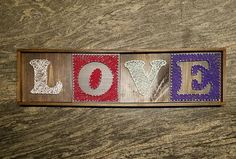 Check out this item in my Etsy shop https://www.etsy.com/listing/510276650/customized-letter-name-love-string-art
