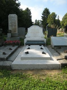 the grave of Emile Flöge, Vienna