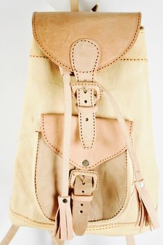 Boho backpack, leather backpack, handmade , gypsy When The North Wind Blows - Backpack - Natural, $130.00 (https://www.northwindblows.com.au/backpack-natural/)