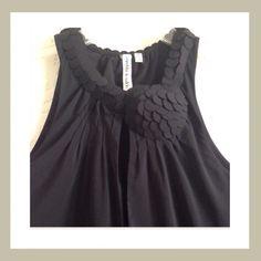 Robbi & Nikki black blouse Elegant black blouse, whit decoration in the neck Robbie & Nikki  Tops Blouses