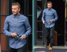 TJ21 David Beckham Dapper