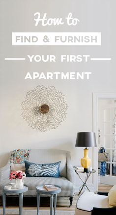 We've compiled a guide on how to find and furnish your first apartment with easse