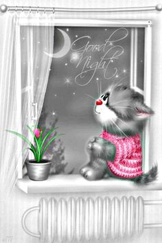 Discover & share this Gif Good Night Stay Positive Cat Ink Sweater Pink Hearts Meteor Shower GIF with everyone you know. GIPHY is how you search, share, discover, and create GIFs. Good Night To You, Night Love, Good Night Sweet Dreams, Good Night Image, Good Night Quotes, Good Morning Good Night, Stay The Night, Good Night Greetings, Good Night Wishes