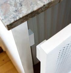 Dekorativ lösning för gamla element Bra Tips, Bra Hacks, Radiators, Cool Furniture, Walls, Future, Cool Stuff, Kitchen, House