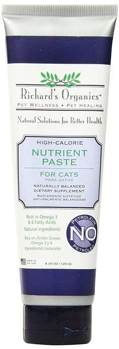 SynergyLabs Richard's Organics Nutrient Paste for Cats
