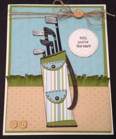 Cricut Father's Day Card. Wrap It Up Cartridge.  *