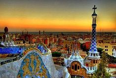 Parc Guell, by Antoni Gaudi. Barcelona, Spain I love Gaudi. Places Around The World, Oh The Places You'll Go, Places To Travel, Places To Visit, Around The Worlds, Travel Destinations, Europe Places, Travel Tips, Europe Europe